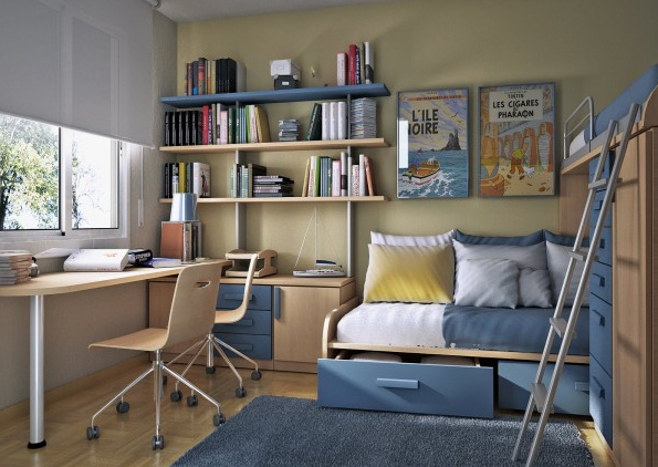 Home Office Design Ideas With Fresh Color Home Design And Interior