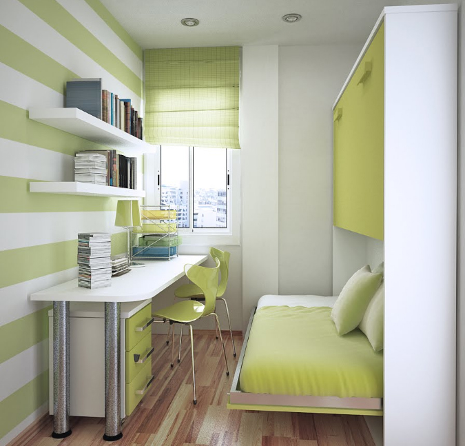 fresh-green-home-office-room-interior-design
