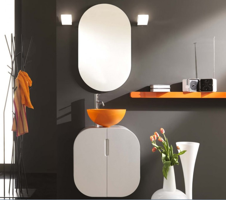 italian orange bathroom design ideas by lasaidea - Bathroom Design Ideas Italian