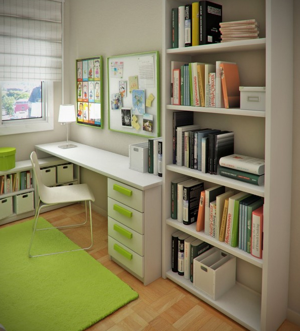 Home Office Room Design. Home Office Room Design D