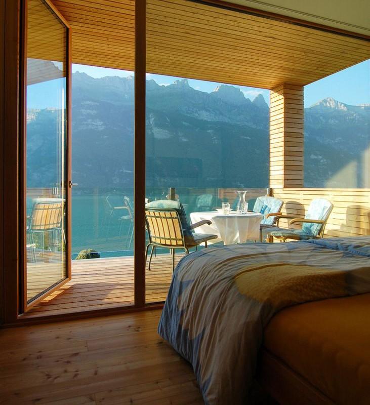 woodbedroominteriordesigninswitzerland woodbedroominteriordesigninswitzerland bright home interiors blending light wood - Wood Wall Interior Design
