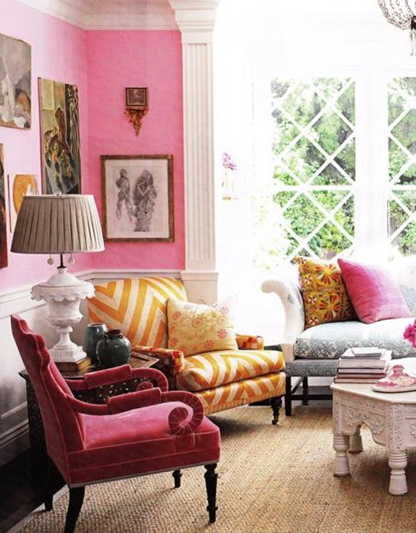 beautiful-living-room-designs-with-pink-style
