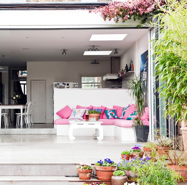 Beautiful terrace design in relaxing style - Plans houses terrace enjoy relaxed lifestyle ...