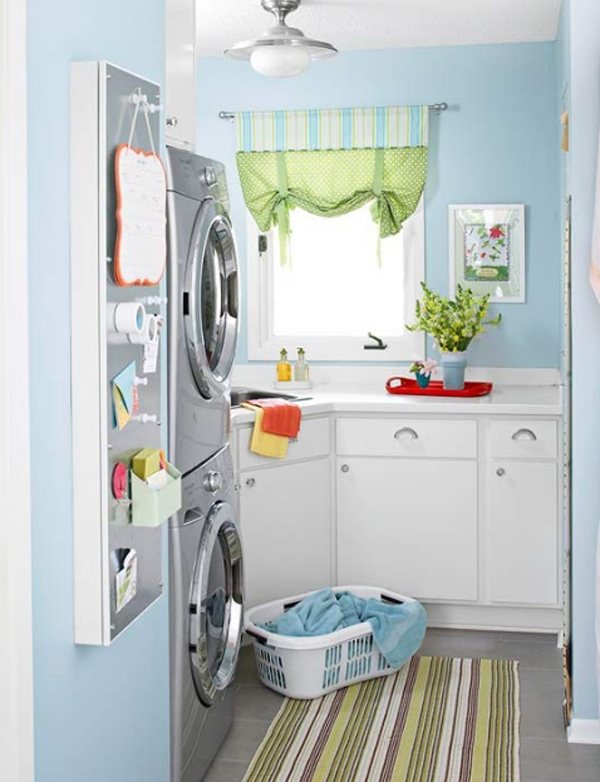 Blue Laundry Room Ideas