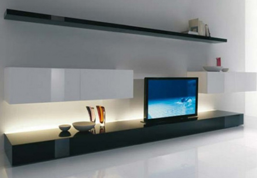 Clean Home clean and minimalist home theater design from acerbis | home