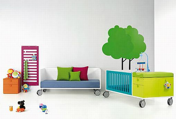 Collection modern kids furniture by bm company for Modern furniture companies