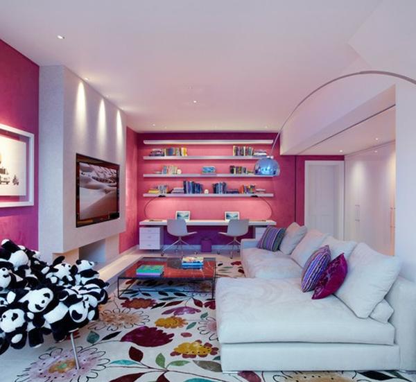 Cute-and-modern-living-room- Design - Ideas