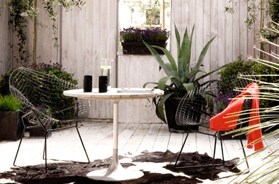 front garden ideas with outdoor furniture