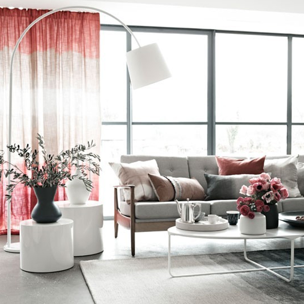 inspired-pink-living-room-furniture-with-floor-lamps