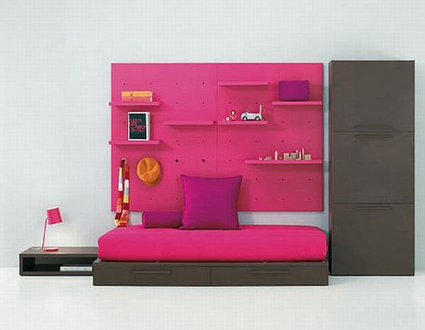 Modern Pink Kids Room Ideas By Bm Company