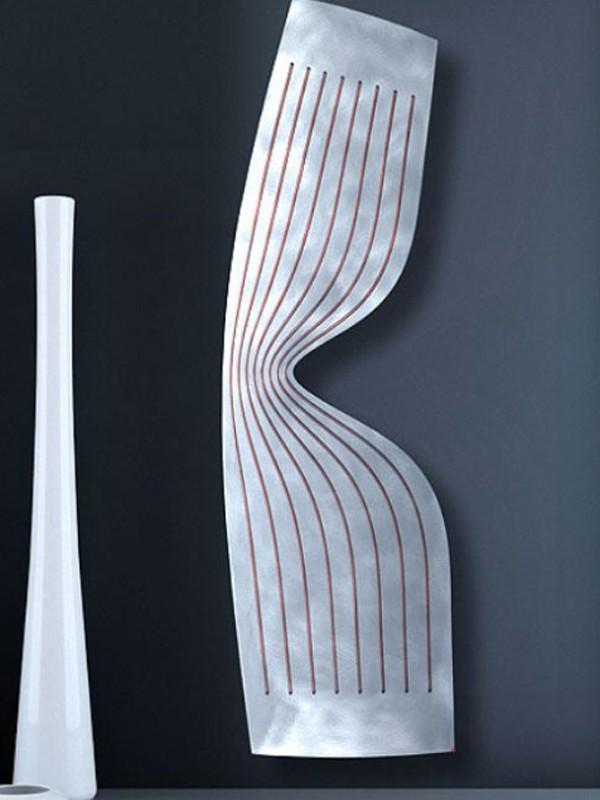 Modern radiators in living room design for Designer radiators for living rooms
