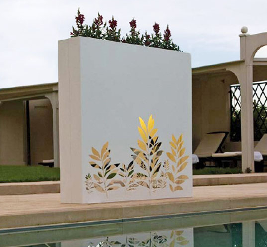 Outdoor Wall Pots and Planters Design by Bysteel Home