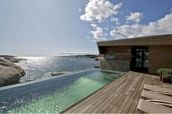 Beach Home Design beach house interior and exterior design ideas 48 pictures Outdoor Swimming Pool Design With Wooden And Stone Materials