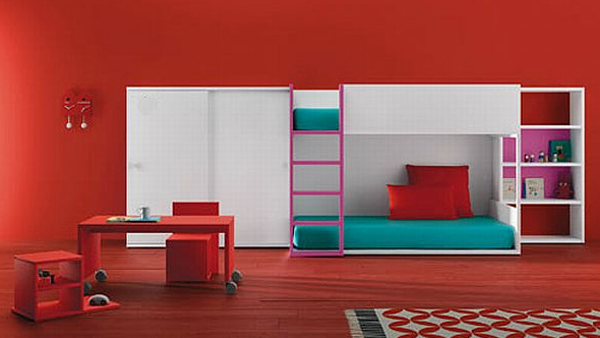 Colorful Kids Furniture Design By BM Company Home