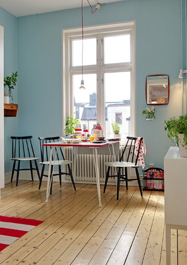 Small apartments with dining room decor - Small apartment dining room ...