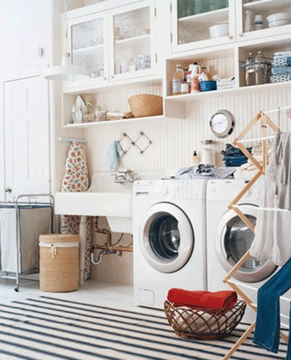 Small Laundry Room Makeover Ideas