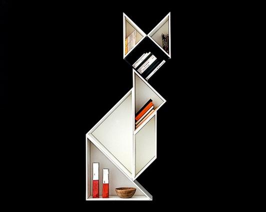 Gallery of Wooden Bookshelves Design Ideas from Lago