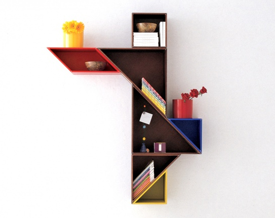Wooden Bookshelves Design Ideas from Lago | Home Design And Interior