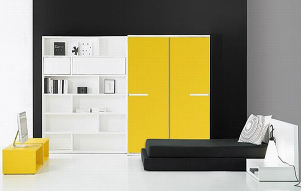 Yellow Kids Furniture By Bm Company
