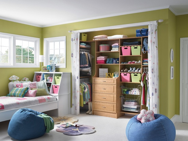 10 Best Kids Closet Design With Colorful Variation