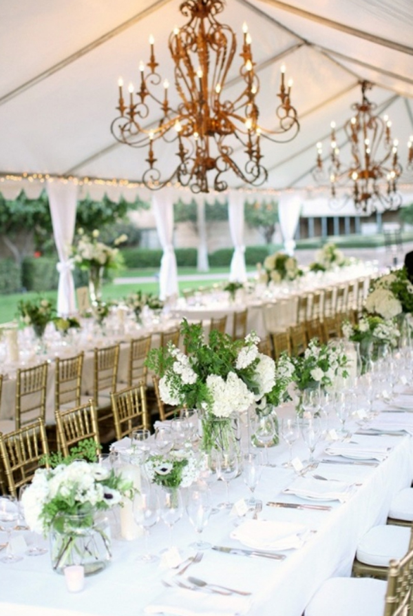 Chandeliers lighting for wedding decoration gallery of 15 wedding chandeliers for romantic ideas aloadofball Images