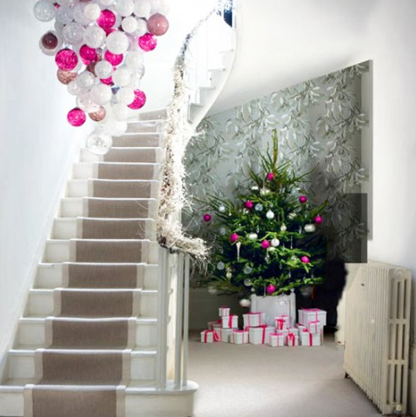 Christmas ornaments with modern chandelier design for Contemporary ornaments for the home