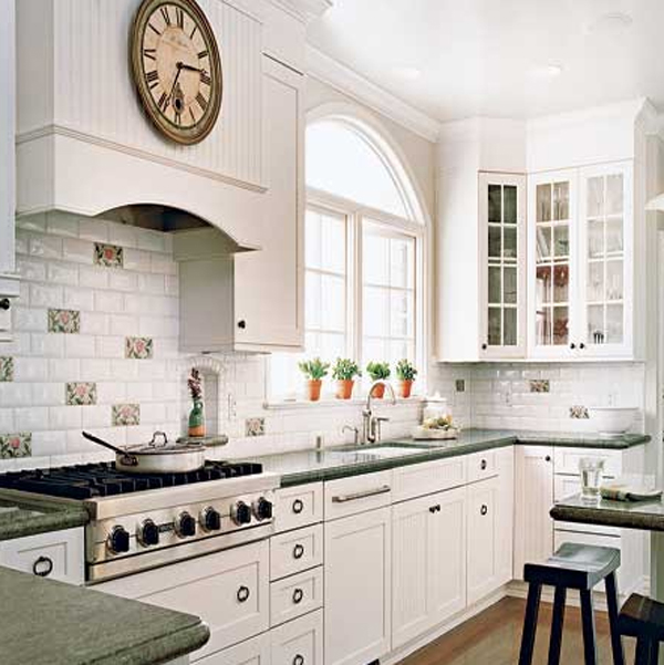 Clasic White Kitchen Design Ideas Home Design And Interior