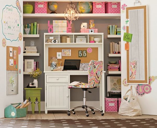 colorful closet design ideas