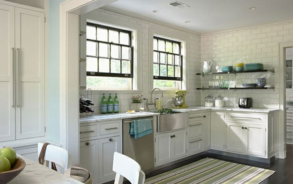 Cool White Kitchen Design Ideas