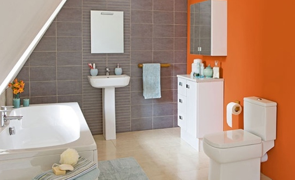 fresh-and-cool-orange-bathroom-ideas
