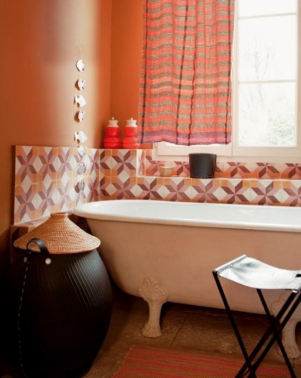 fresh-and-small-orange-bathroom-decor-ideas