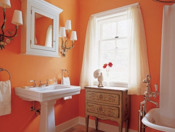 fresh-orange-bathroom-ideas