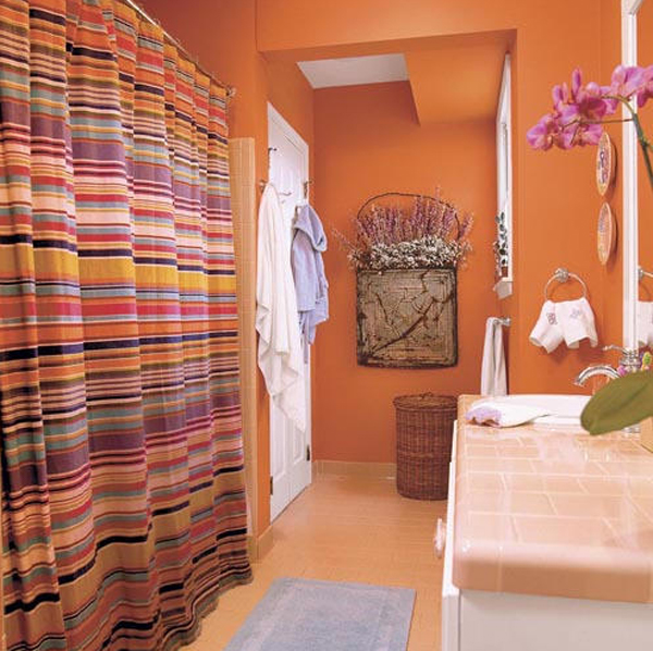 fresh-orange-bathroom-renovation-ideas