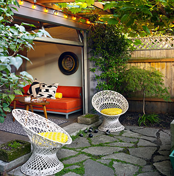 Garden design in small home renovations for Small house garden design