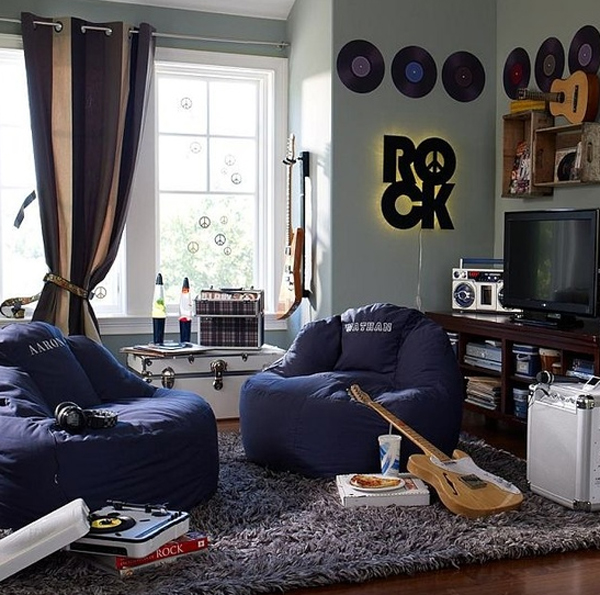 20 Inspiring Music Themed Bedroom Ideas | Room