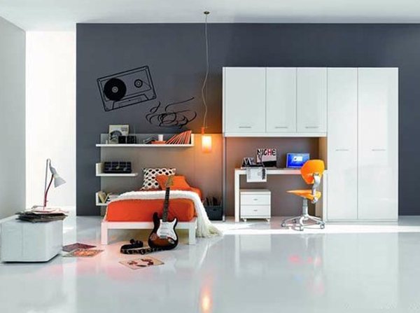 inspiring modern bedroom design with music themed 20 Inspiring Music Themed Bedroom Ideas