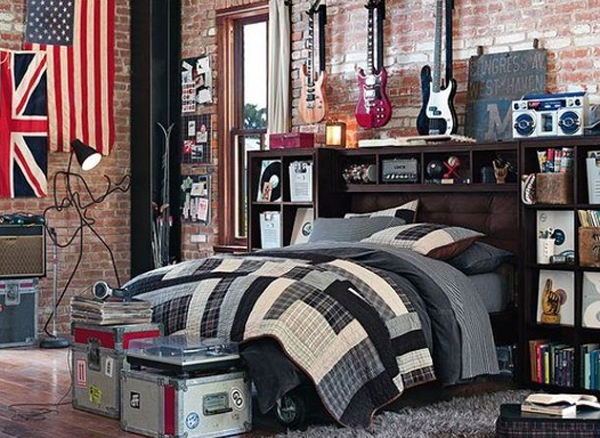 inspiring music bedroom decorating ideas 20 Inspiring Music Themed Bedroom Ideas