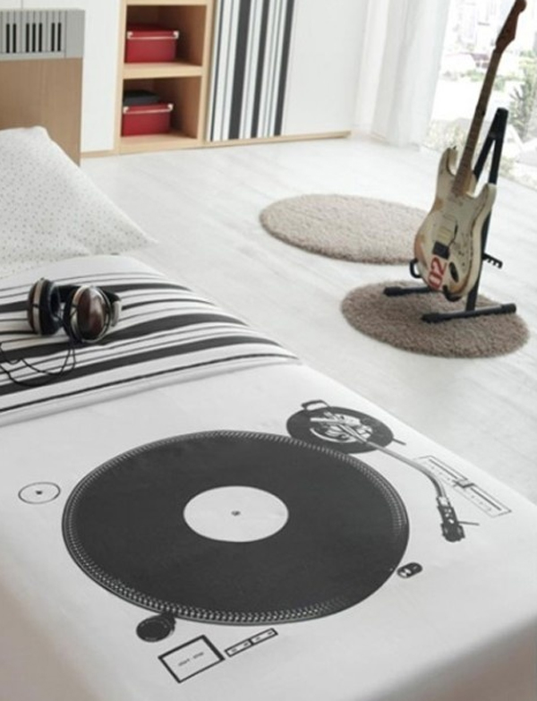 inspiring music themed bedroom ideas 20 Inspiring Music Themed Bedroom Ideas