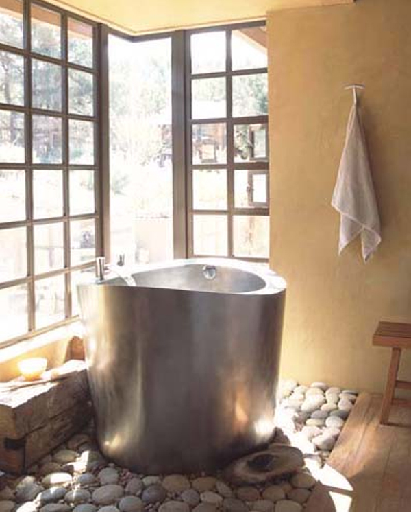 Modern Relaxing Japanese Soaking Bathtubs Home Design