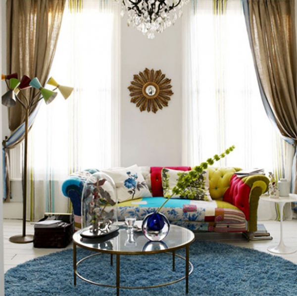 Living Room Designs Funny Colorful Living Room Decorating: 10 Modern Living Room Design : Make Over Colorful Fabrics