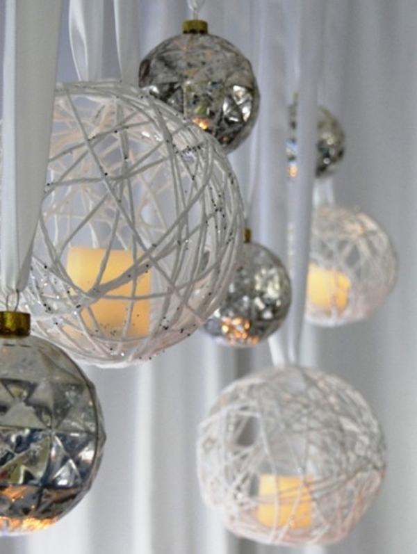 Modern chandelier with christmas ideas for Contemporary ornaments for the home