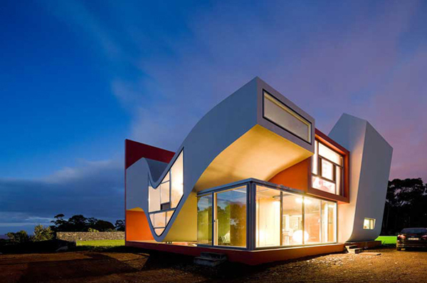 Unique and modern house located in portugal home design for Cool modern houses