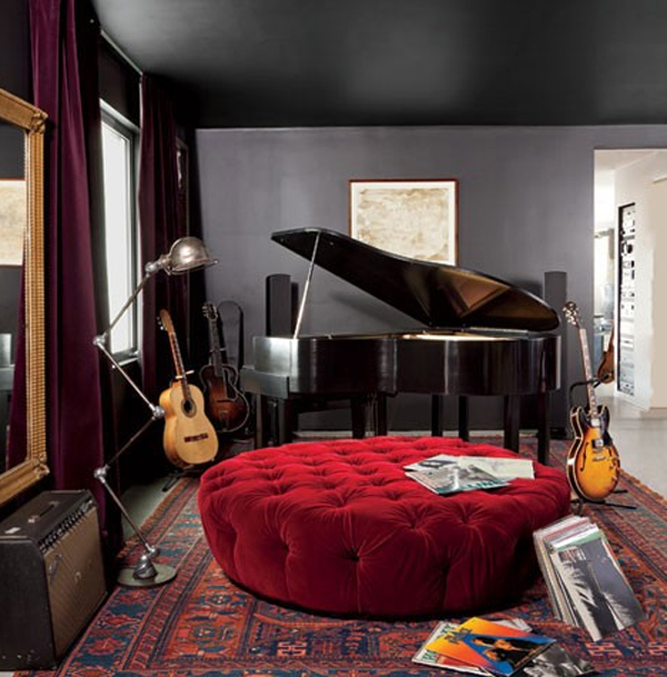 modern music themed for bedroom design 20 Inspiring Music Themed Bedroom Ideas