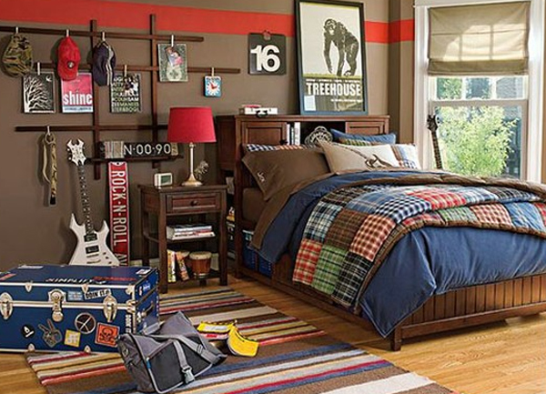 music bedroom decor for teen 20 Inspiring Music Themed Bedroom Ideas