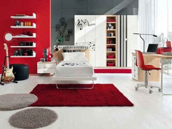 music bedroom design ideas 20 Inspiring Music Themed Bedroom Ideas