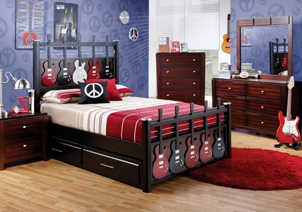 music bedroom interior design ideas 20 Inspiring Music Themed Bedroom Ideas