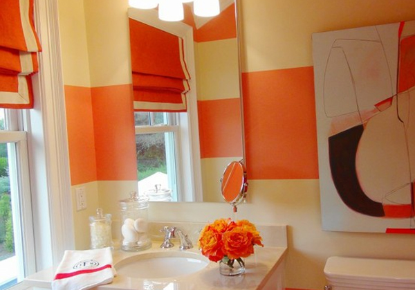 orange-bathroom-aplliances