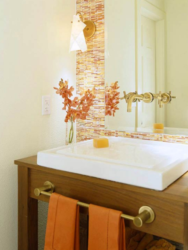 orange bathroom ideas 20 fresh orange bathroom ideas home design and interior 302