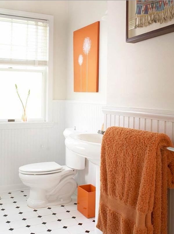 Orange Bathroom Ideas Collection