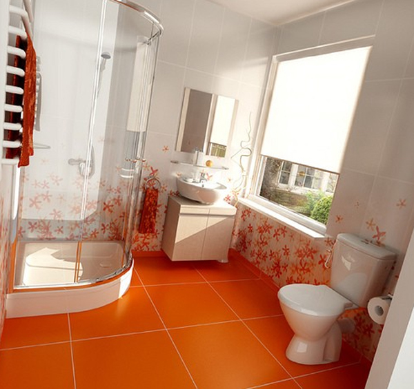 orange-bathroom-ideas